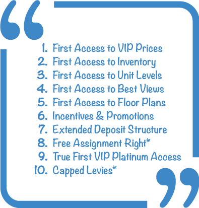 First Access to VIP Prices
